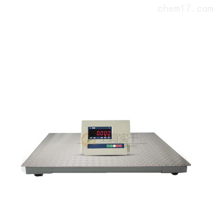 1-3吨加厚地磅秤,不锈钢平台电子秤