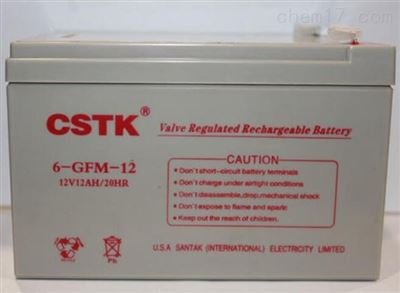 CSTK  6-GFM-7至 6-GFM-100CSTK阀控式密封免维护铅酸蓄电池