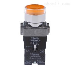 施耐德XB2BW型资讯:1常开型信号按钮XB2BW35B1C报价