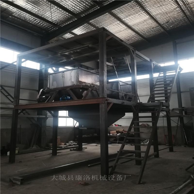水泥匀质保温板设备,压制型颗粒聚苯板生产