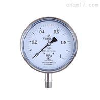 不锈钢压力表Y-60B