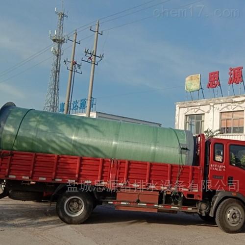 污水式一体化预制泵站中潜污泵选择