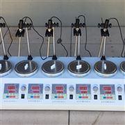 大功率六头双数显恒温磁力加热搅拌器