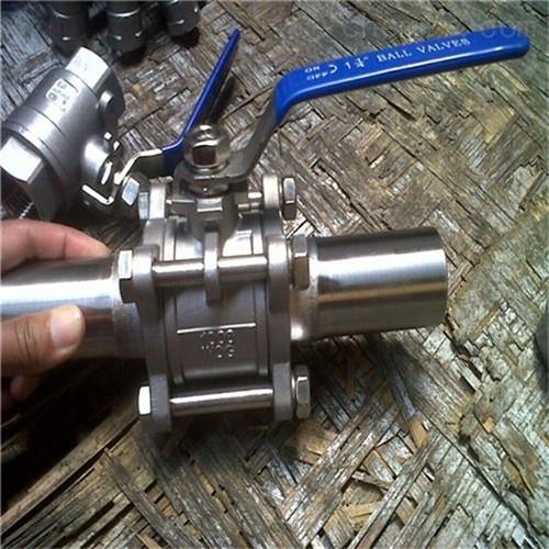 Q61F三片式对焊球阀厂家