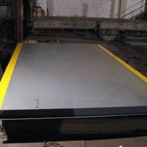 150吨电子地磅维修调试