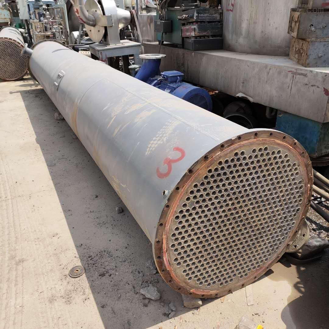 处理二手钛材 钛合金列管冷凝器
