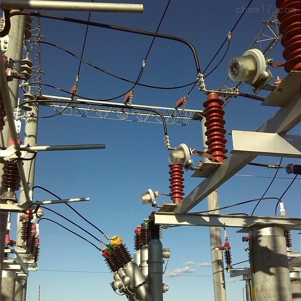 电站35KV高压避雷器带放电计数器