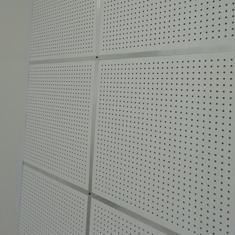 硅酸钙复合玻璃棉吸音板防火墙面