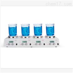 LCD加熱四通道磁力攪拌器