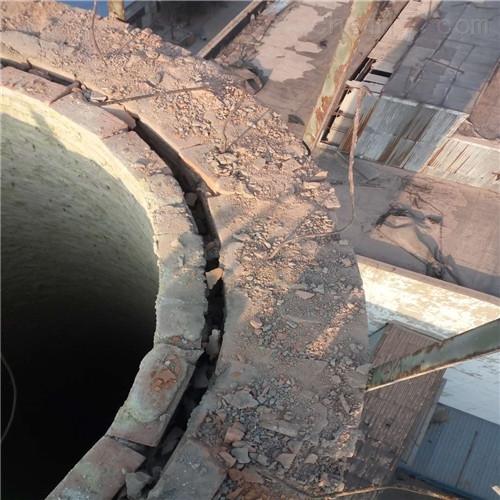 洛阳大口径烟囱拆除公司施工方案