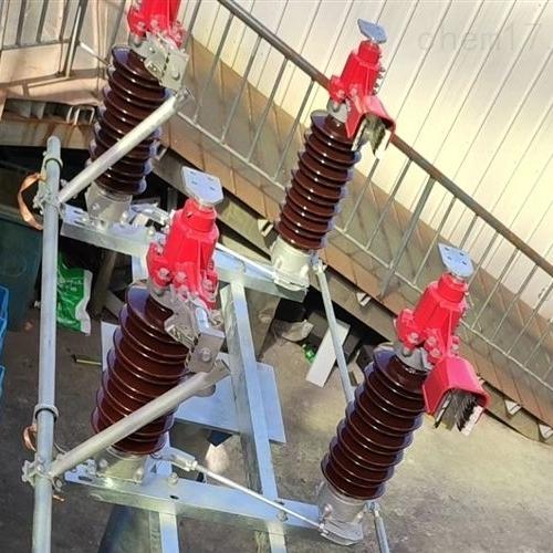 电站35kv双柱带接地高压隔离开关圆棒式结构