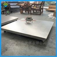 不锈钢电子平台秤,化工厂车间用地磅秤