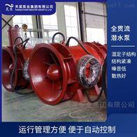 天津码头用500QGWZ全贯流潜水电泵价格明细