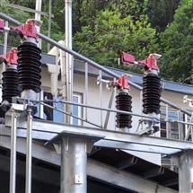 洛阳变电站GW4-35kv电动三相高压隔离开关