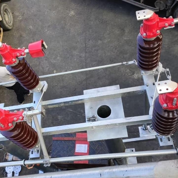 硅橡胶GW4高压隔离开关35kv厂家直销