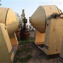 二手3000升搪瓷双锥回转真空干燥机