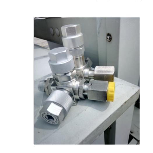 SF6密度继电器在线校验三通阀装置