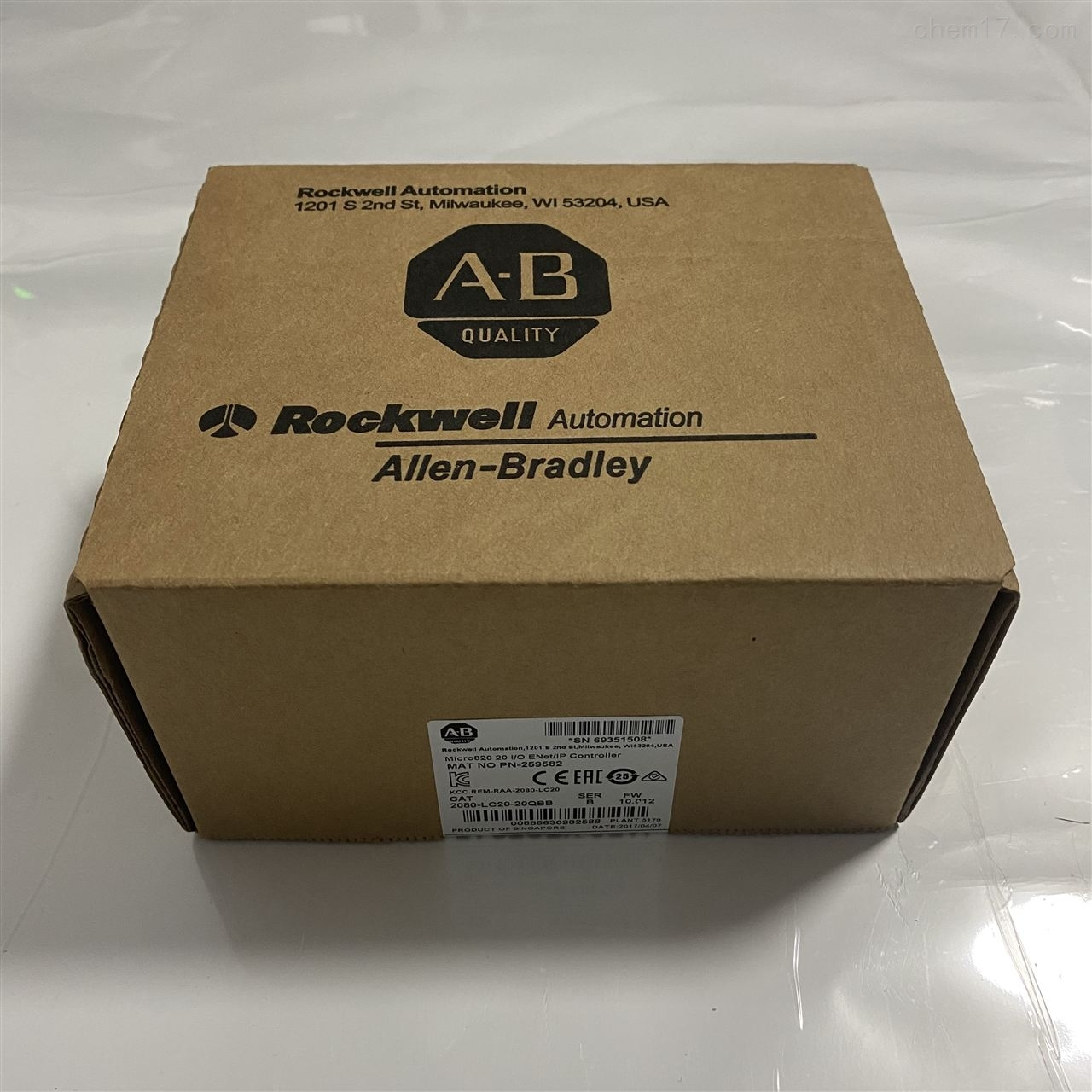 代理AB罗克韦尔2080系列质保一年