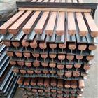 钢体滑触线JCHX-600铜质链接夹板