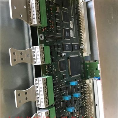 西门子8282数控设备不能启动当天维修成功
