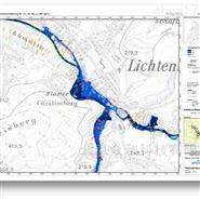 FloodArea 二维水动力模拟系统软件