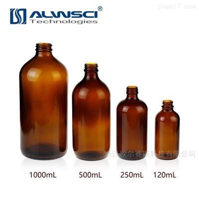 C0000125棕色容量试剂窄口瓶60mL120mL250mL1000mL