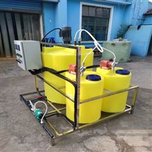MYJY-500L100L-1000L简易型次氯酸钠加药装置搅拌设备