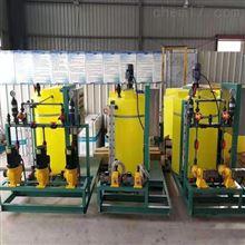 MYJY-10000L化工厂二氧化氯大型加药装置一桶多泵输送