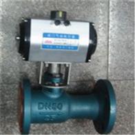 QJ641M不锈钢气动一体式高温球阀