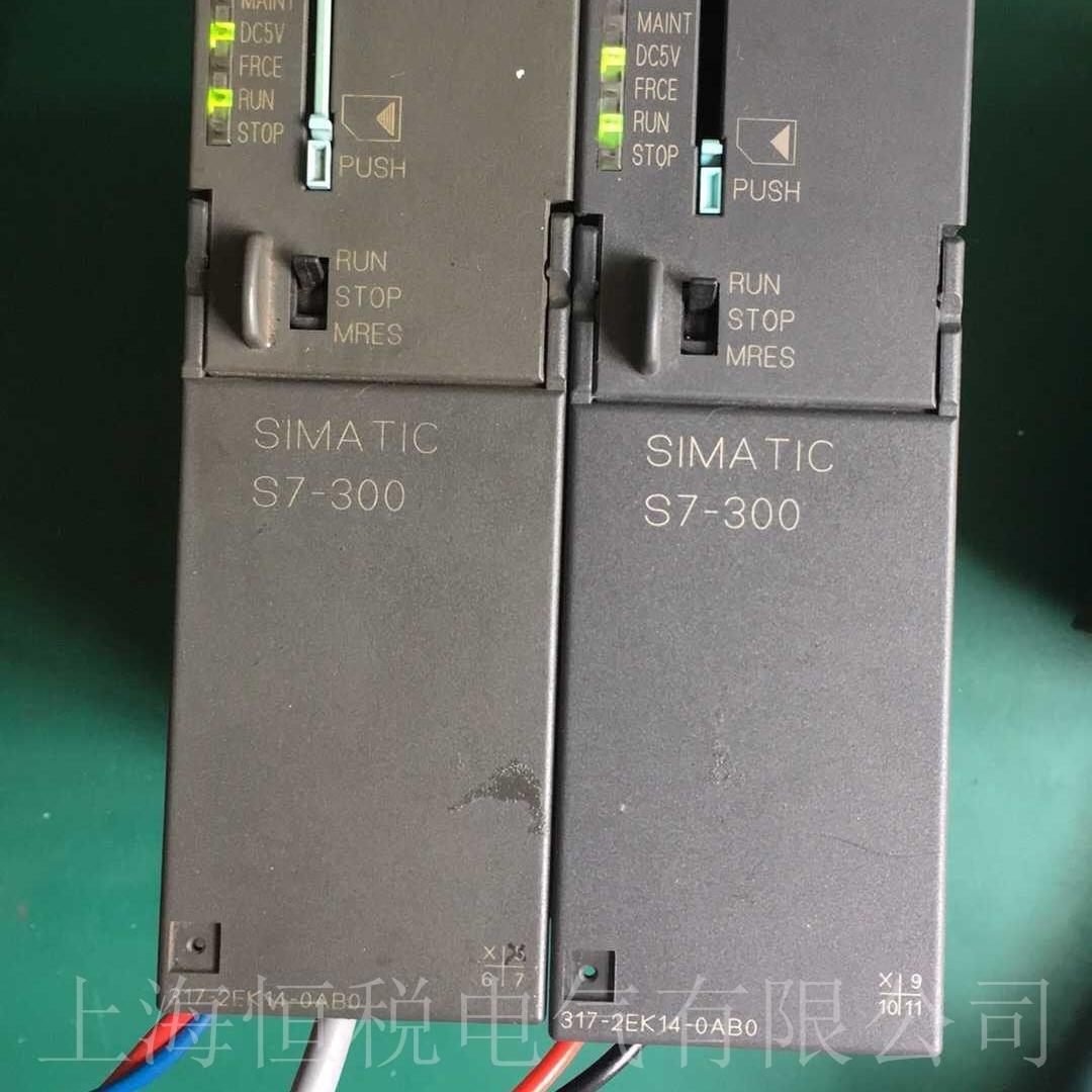 西门子S7-300PLC模块上电启动无反应维修