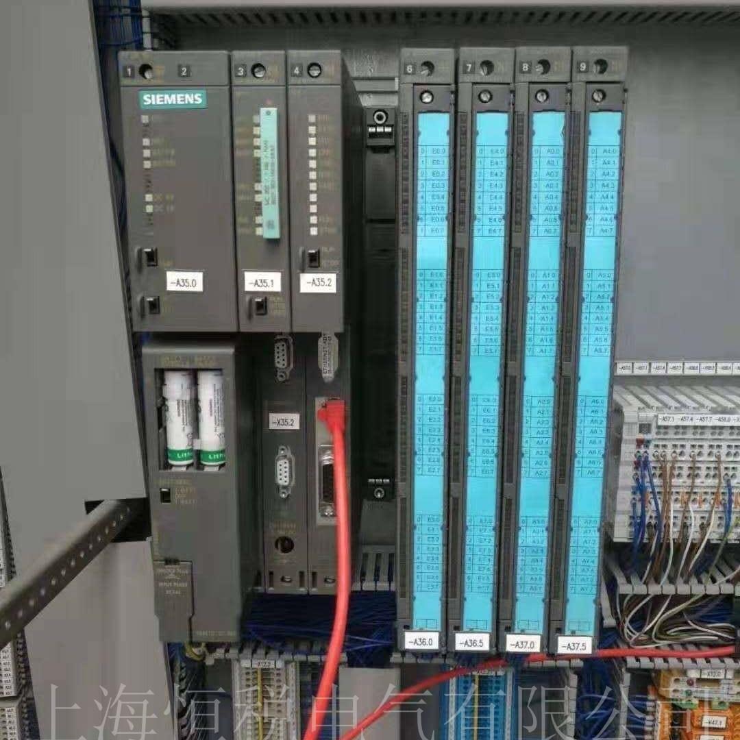 西门子PLC300系列上电指示灯不亮维修