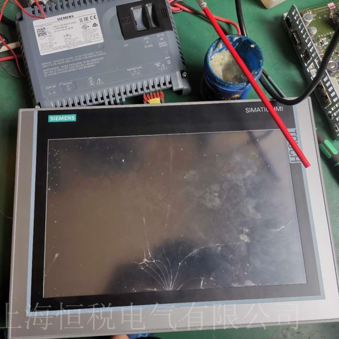 西门子MP377触摸屏按键无反应维修检测