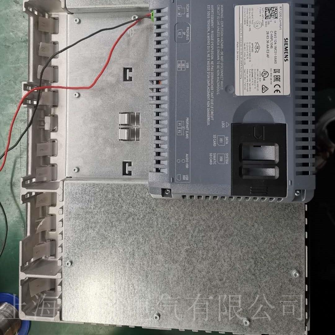 西门子触摸屏TP1500网口通讯坏维修检测