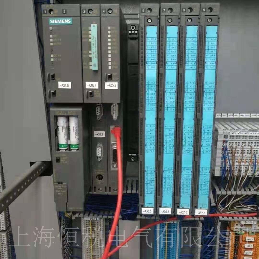 西门子PLC400上电指示灯全亮/全闪故障维修