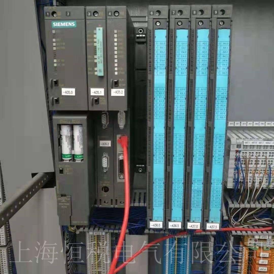 西门子PLC417开机指示灯全部不亮故障检测