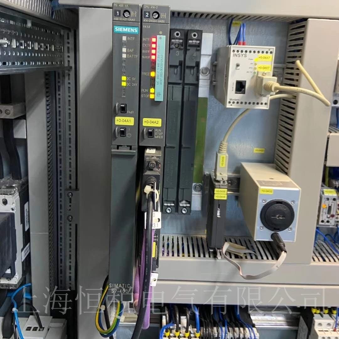 西门子PLC416开机所有的全部不亮故障分析