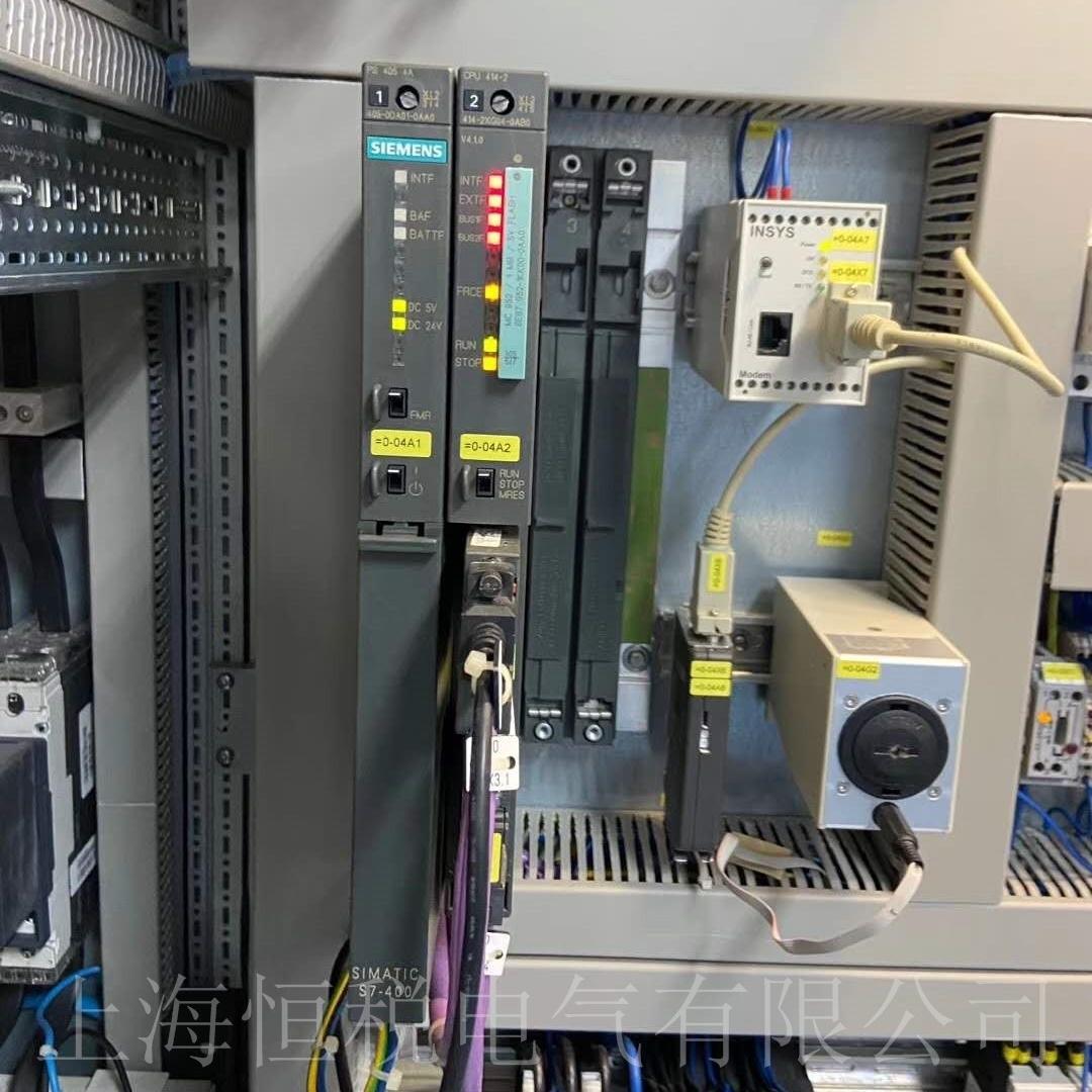 西门子CPU414上电所有灯全部不亮维修技巧