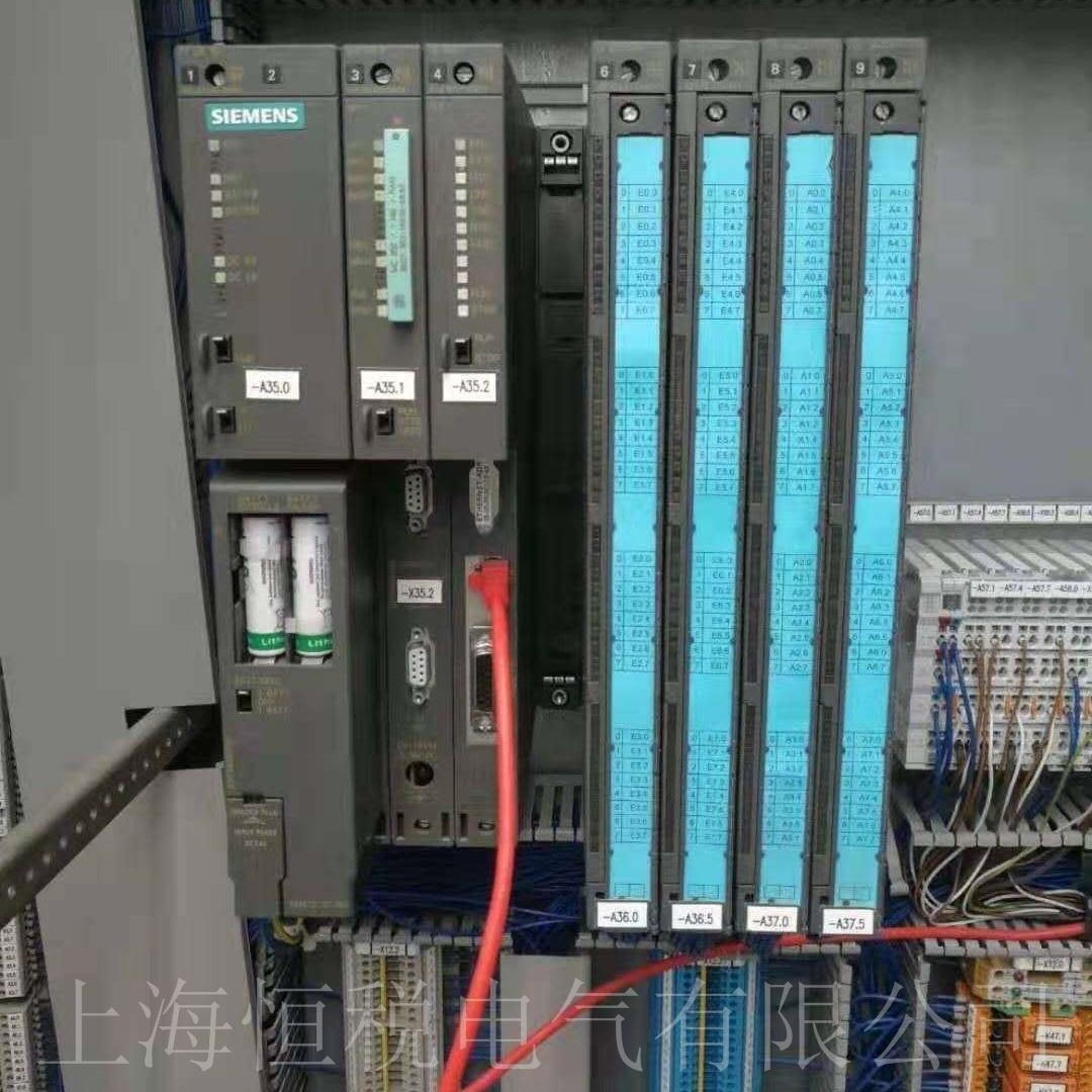 西门子PLC412通电所有灯全亮修复解决
