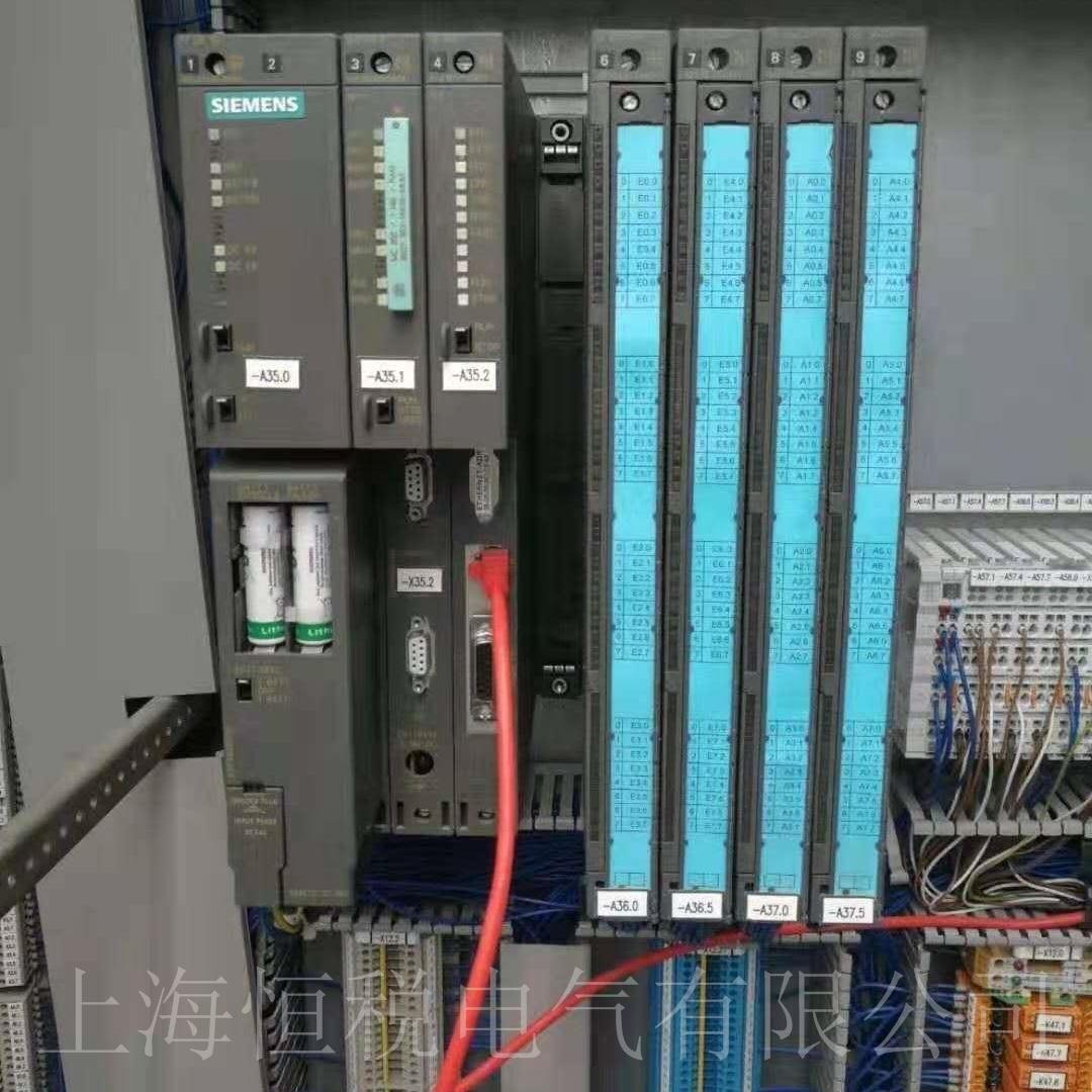 西门子CPU412开机所有灯无显示故障维修