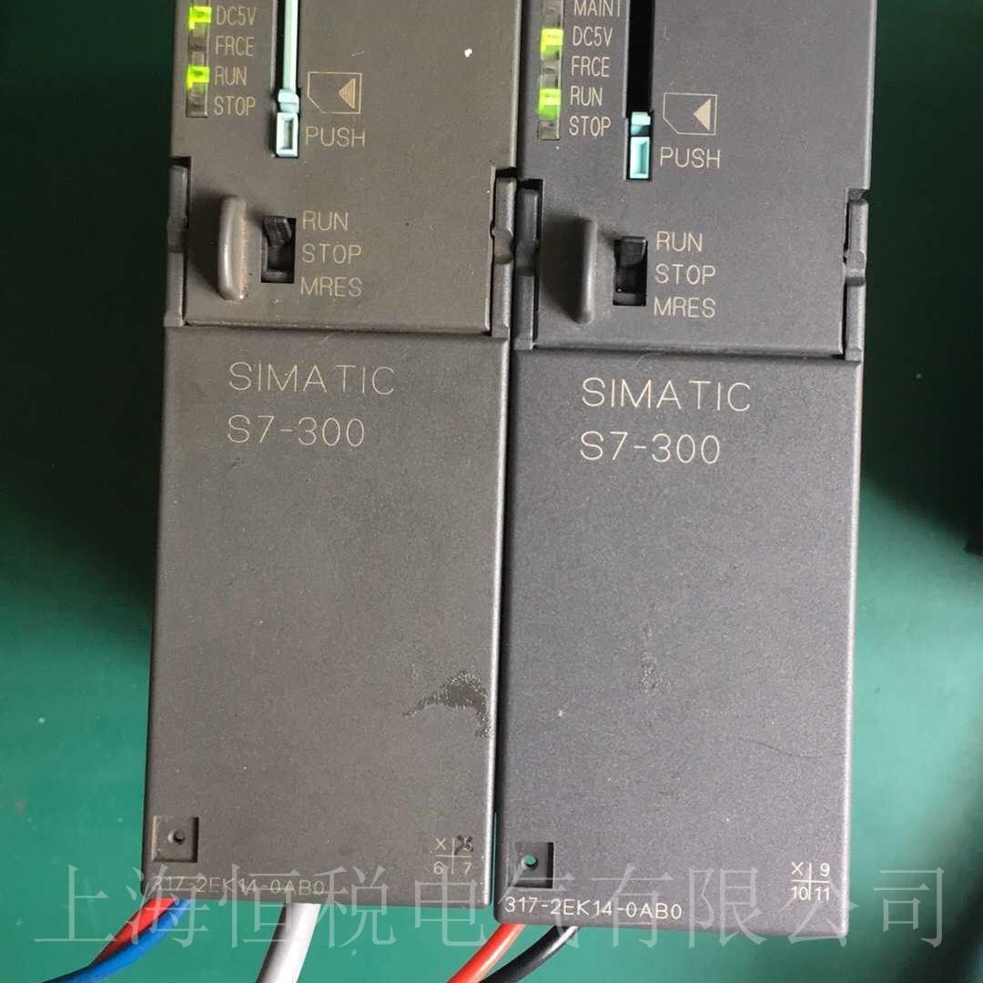 西门子PLC319上电五个灯全亮/全闪解决方法