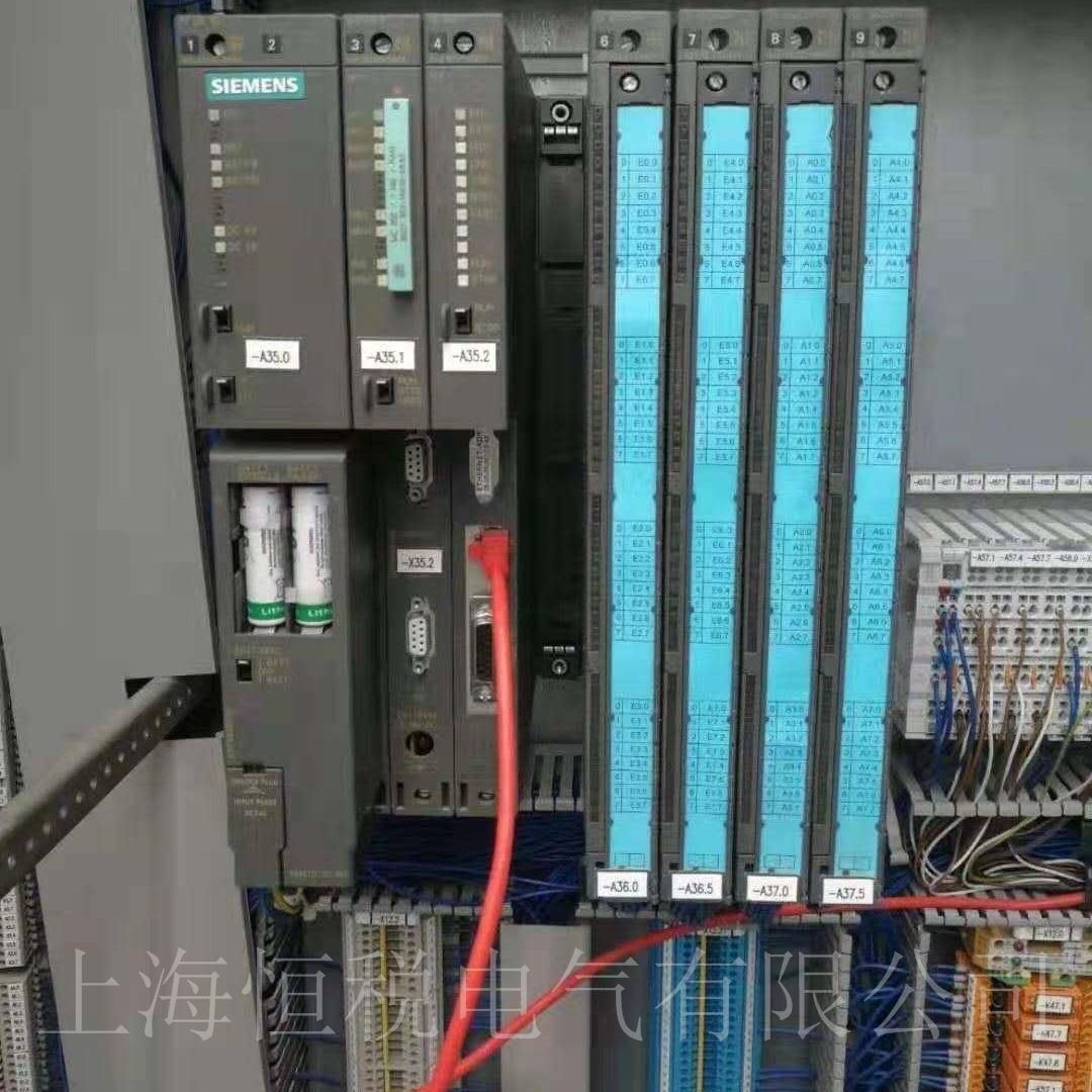 西门子PLC319上电所有灯一直闪烁故障修复