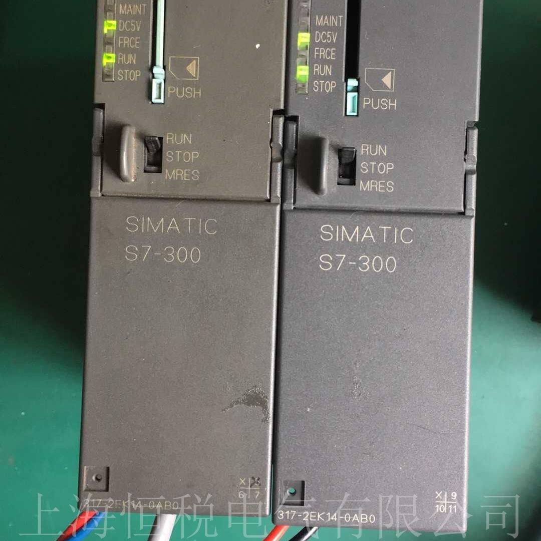 西门子PLC319 SF灯常亮BF灯闪维修检测