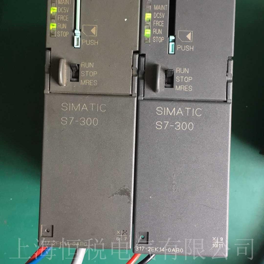 西门子PLC317启动所有灯全部不亮维修技巧
