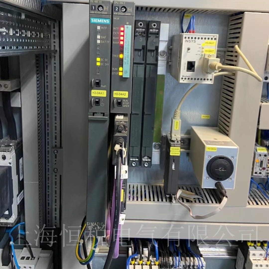 西门子PLC317通电不启动/上电无反应修复