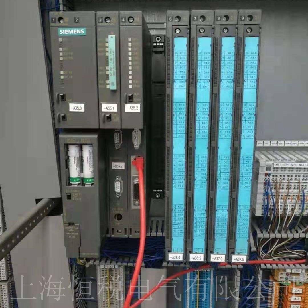 西门子PLC317上电所有灯全亮技术修复中心