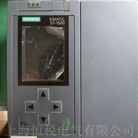西门子中央控制器CPU1518开机面板无显示