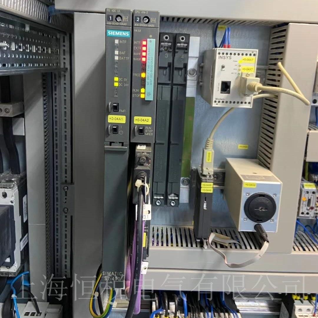西门子S7-400FM458-1DP所有灯全亮维修检测