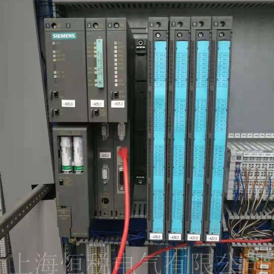 西门子PLC模块6DD1607指示灯全闪维修检测