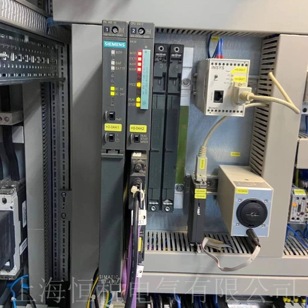 西门子模块6DD1607上电INTF/IF灯亮解决方法
