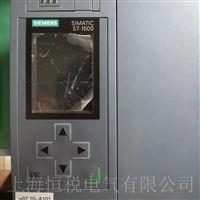 西门子CPU控制器1500通电启动屏幕不亮修复